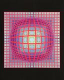 Vega 201, 1968 Kunst von Victor Vasarely