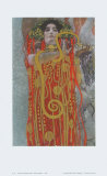 Hygieaia (detail) Lámina coleccionable por Gustav Klimt