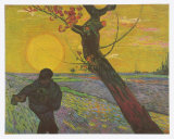 The Sower, c.1888 Posters av Vincent van Gogh