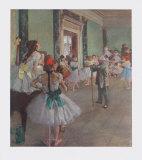 Classe de Danse Impressão colecionável por Edgar Degas