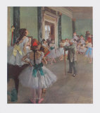 Classe de Danse Keräilyvedos tekijänä Edgar Degas