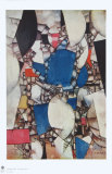 The Woman in Blue Impressão colecionável por Fernand Leger