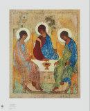 The Holy Trinity ポスター : アンドレイ・ルブリョーフ
