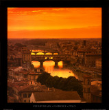 Florence - Italy Poster par Stuart Black