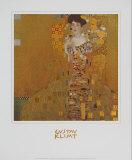 Adele Bloch-Bauer I Affischer av Gustav Klimt