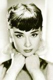 Audrey Hepburn Stampe