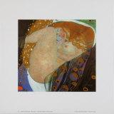 Danae, 1907-08  Póster por Gustav Klimt