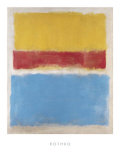 Untitled (Yellow, Red and Blue), c.1953 ポスター : マーク・ロスコ