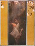 Liebe Poster von Gustav Klimt