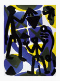 Vergleich Posters by A. R. Penck