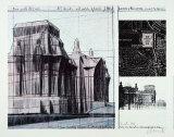 Reichstag I - Signed Reproduction pour collectionneur par  Christo