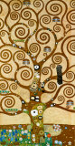 Livets tre Posters av Gustav Klimt