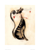 Leopold Th Cat Prints by Marilyn Robertson
