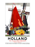 Holland Giclee Print by Kenneth Shoesmith