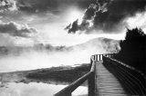 Walkway over the Lake Print
