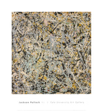 No. 4, 1949 ポスター : ジャクソン・ポロック