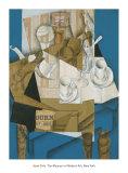 Breakfast, 1914 Plakater af Juan Gris