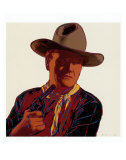 Cowboys and Indians: John Wayne 201/250, 1986 Plakater af Andy Warhol
