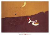 The Hare, Paysage le Lievre, Autumn 1927 Posters af Joan Miró