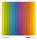 Spectrum IV Plakat af Ellsworth Kelly