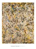 No. 9, 1949 Affischer av Jackson Pollock