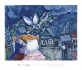 The Dream, 1939 Julisteet tekijänä Marc Chagall