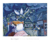 The Dream, 1939 ポスター : マルク・シャガール