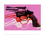 Waffe, ca.1981–1982 Kunstdrucke von Andy Warhol