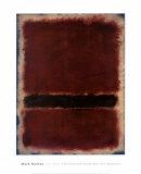 Senza titolo, 1963 Stampe di Mark Rothko