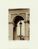 Lamp Inside Arc de Triomphe Kunst af Christian Peacock