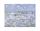 Waves Breaking Posters por Claude Monet