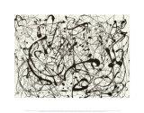 Nr. 14 Grijs Schilderij van Jackson Pollock