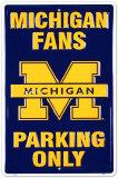 University of Michigan Tin Sign
