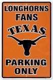 Universidade do Texas Placa de lata