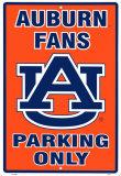 Universidade Auburn Placa de lata