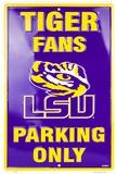 Louisiana State University Tin Sign