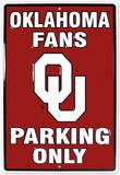Oklahoma University Carteles metálicos