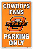 Oklahoma State University Tin Sign