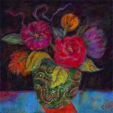 Orange Shadow Pôsters por Carolyn Holman