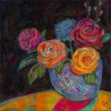 Pink Shadow Affiches par Carolyn Holman