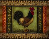 Mediterranean Rooster VI Kunstdrucke von Kimberly Poloson