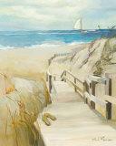 Coastal Escape Poster by Marilyn Hageman