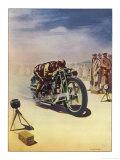 Timing a Motor Cycle Giclée-vedos tekijänä  Shuffrey