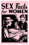 Sex Facts for Women Masterprint