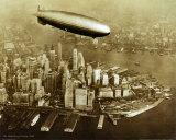 The Hindenburg Airship, 1936 Posters