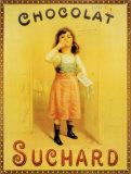 Suchard-Schokolade Blechschild