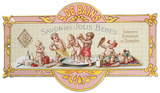 Savon Des Jolis Bebes Placa de lata