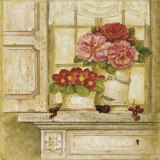 Floral Arrangement with Grapes I Prints by Herve Libaud