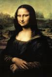 Mona Lisa Poster van  Leonardo da Vinci