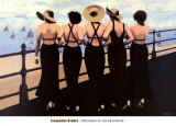 Afternoon on the Boardwalk Prints by Jacqueline Osborn